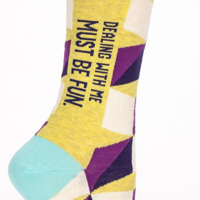 Womens Socks - Dealing with Me