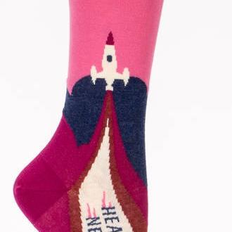 Womens Socks - Heading to my Next Mistake
