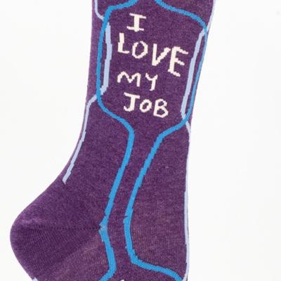 Womens Socks - I Love My Job