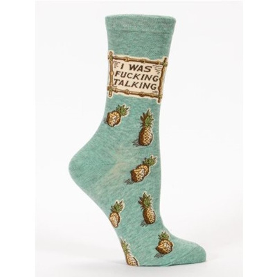 Women's Socks - I Was F*#king Talking