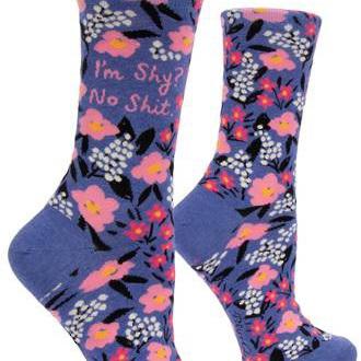 Womens Socks - I'm Shy? No Shit