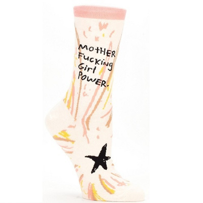Women's Socks - mfing Girl Power