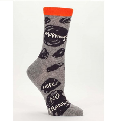 Women's Socks - Morning, No Thanks