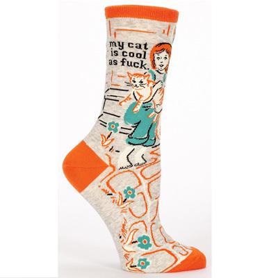 Women's Socks - My Cat is Cool as F*#k