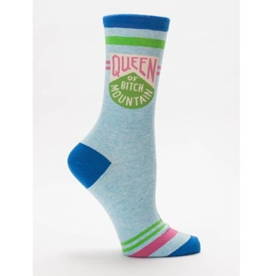 Women's Socks - Queen Of Bitch Mountain