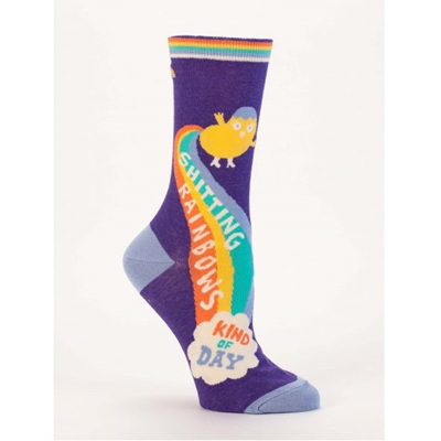 Women's Socks - Shitting Rainbows