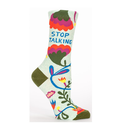 Women's Socks - Stop Talking