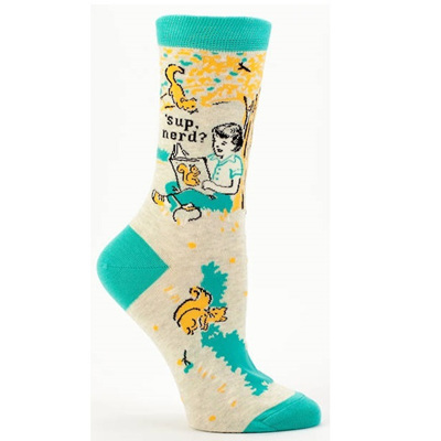 Women's Socks - Sup Nerd