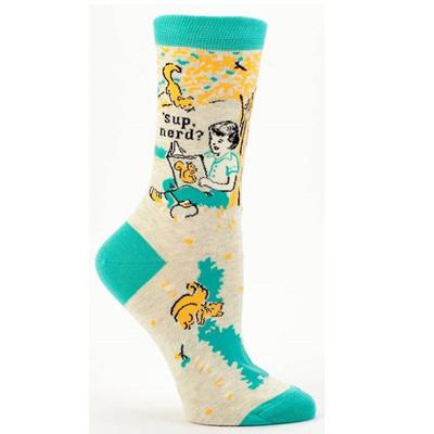 Women's Socks - Sup Nerd