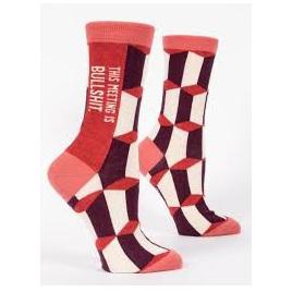 Womens Socks - This Meeting Is BS