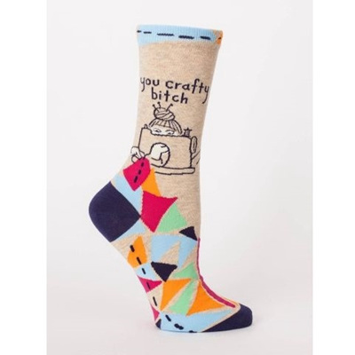 Women's Socks - You Crafty Bitch