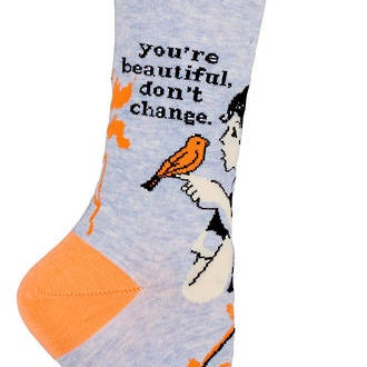 Womens Socks - You're Beautiful