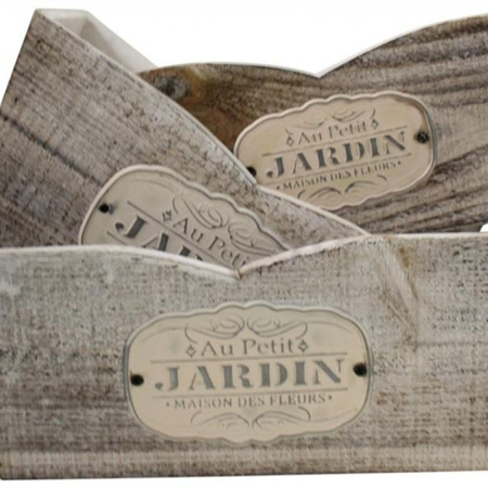 Wooden Box Jardin Assorted Sizes