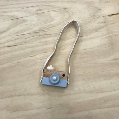Wooden Play Camera - Grey