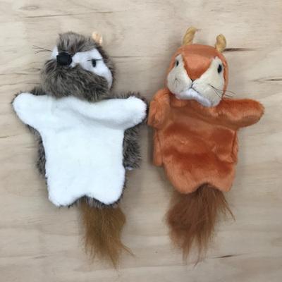 Woodland Hand Puppets