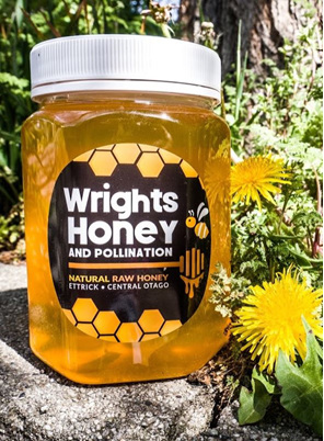 WRIGHTS CLOVER RUNNY HONEY 500G