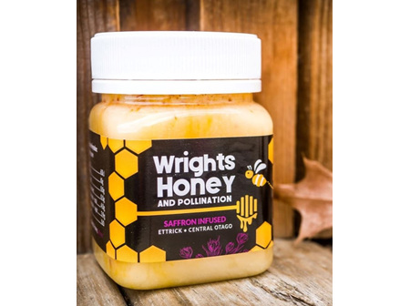 WRIGHTS SAFFRON INFUSED HONEY 250G