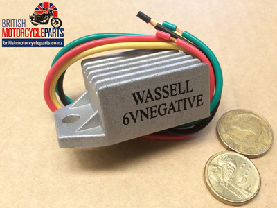 WW10221N Solid State 6V Negative Earth DC Regulator