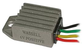 WW10221P Solid State 6V Positive Earth DC Regulator