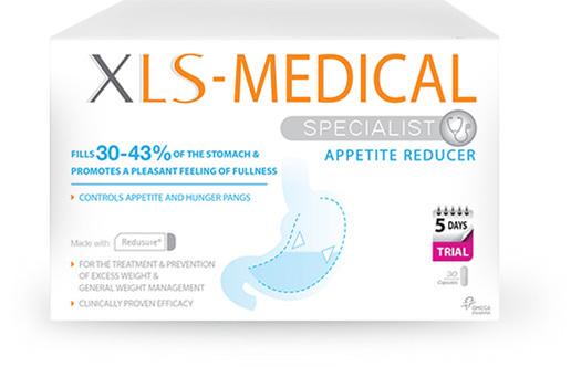XLS Medical Appetite Reducer 60Caps