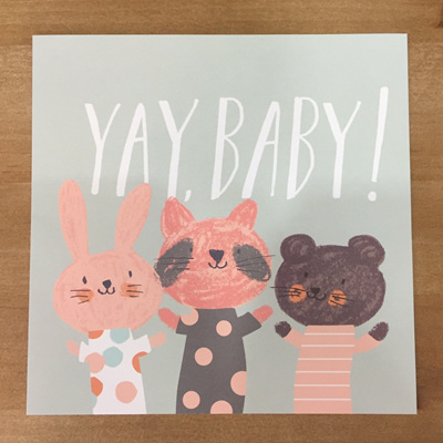 Yay Baby Card