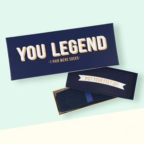 You legend - socks