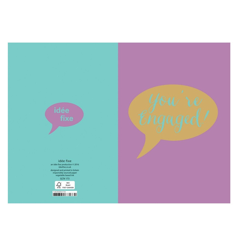You're Engaged! Greeting Card