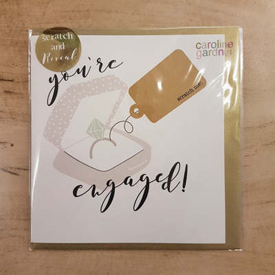 You're Engaged! Scratch Card