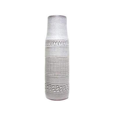 Zabu Ceramic Vase - Grey - Small