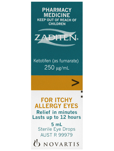 Zaditen Eye Drops 5mL