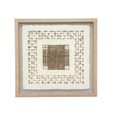 Zahir Framed Paper Art - 60x60cm