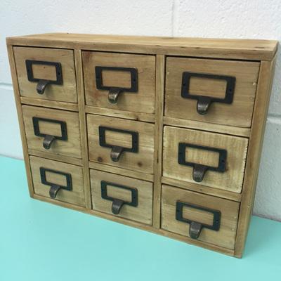 Zakka Style 9 Drawer Mini Cabinet