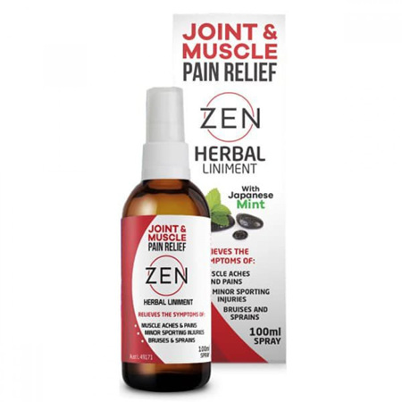 Zen Herbal Liniment Spray 100ml