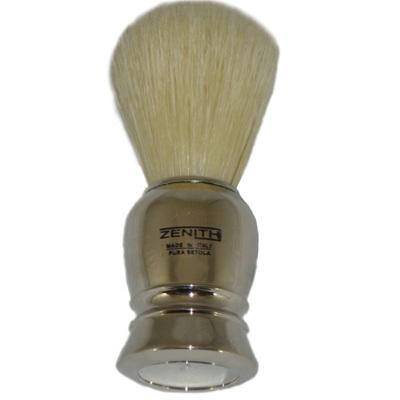 Zenith Chrome Shaving Brush - Boar Bristles