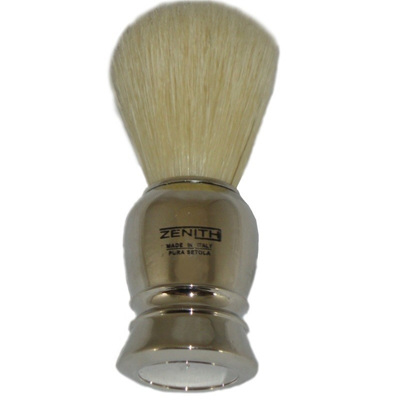 Zenith Chrome Shaving Brush - Boar Bristles