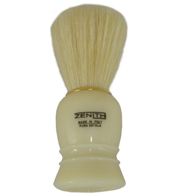 Zenith Cream/Gold Shaving Brush - Boar Bristles