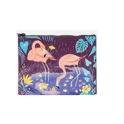 Zipper Pouch - Flamingo