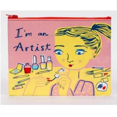 Zipper Pouch - I'm A Artist