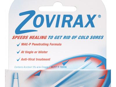 Zovirax Tube Cold Sore Cream 2g