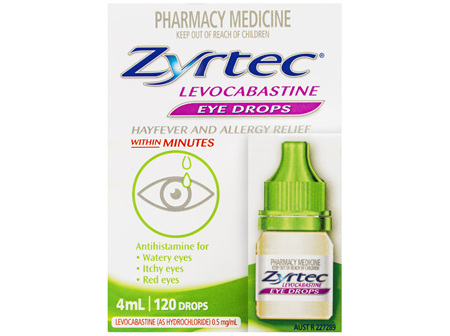 Zyrtec® EYE DROPS