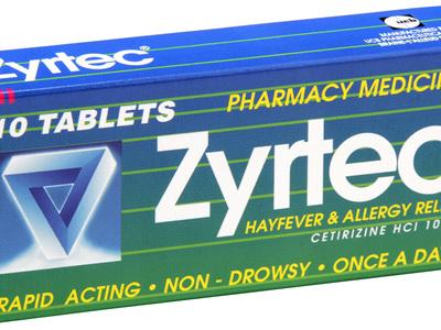 Zyrtec Tablet Hayfever Allergy Relief 10